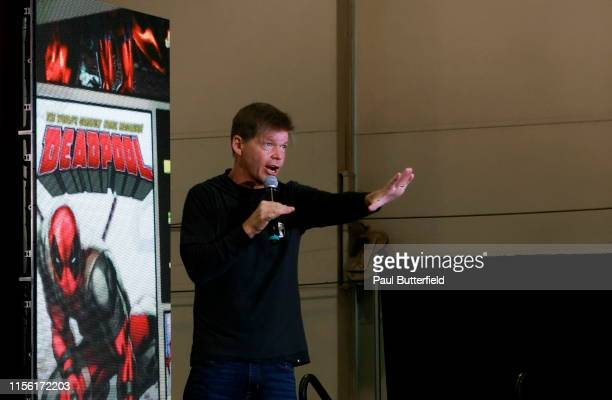 Rob Liefeld speaks onstage during the Seventh Annual Amazing Las Vegas Comic Con at the Las Vegas Convention Center on June 15, 2019 in Las Vegas,...