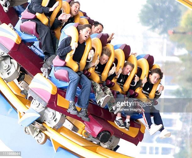 Rob Lowe and Chad Lowe on Six Flag Magic Mountain's Scream *Exclusive*