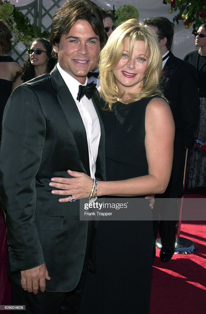 rob lowe and his wife sheryl berkoff news photo getty. Black Bedroom Furniture Sets. Home Design Ideas