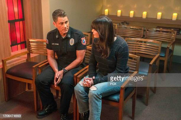Rob Lowe and Liv Tyler in the Monster Inside episode of 911 LONE STAR airing Monday March 2 on FOX
