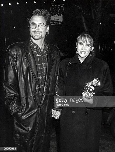 Rob Lowe and Melissa Gilbert during Rob Lowe Sighting at Elaine's in New York City October 8 1987 at Elaine's in New York City New York United States
