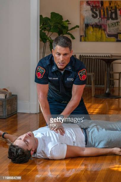 Rob Lowe and Ronen Rubenstein in 911 LONE STAR debuting in a special twonight series premiere Sunday Jan 19 following the NFC CHAMPIONSHIP GAME and...