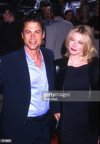 Rob Lowe and wife