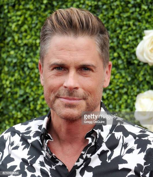 Rob Lowe arrives at the 2017 Summer TCA Tour CBS Television Studios' Summer Soiree at CBS Studios Radford on August 1 2017 in Studio City California