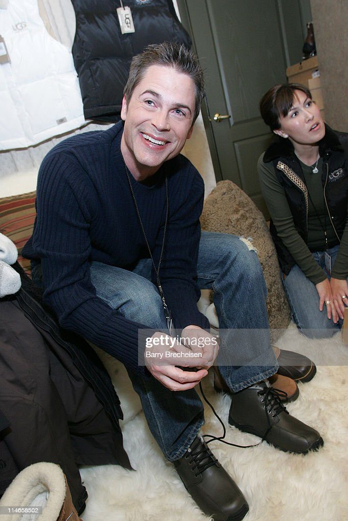 Rob Lowe at Ugg during 2006 Park City - Uggs at Village at The Lift -