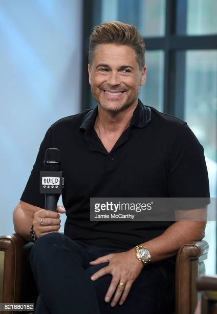 Rob Lowe attends Build to discuss 'The Lowe Files'at Build Studio on July 24 2017 in New York City