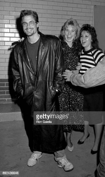 Rob Lowe attends Howard Stern Show on October 9 1987 at KROC Studios in New York City