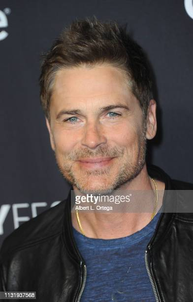 Rob Lowe attends The Paley Center For Media's 2019 PaleyFest LA Parks And Recreation 10th Anniversary Reunion held at Dolby Theatre on March 21 2019...