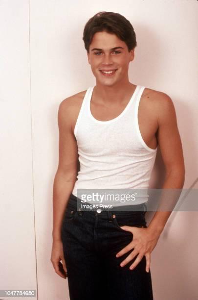 Rob Lowe circa 1982 in New York City