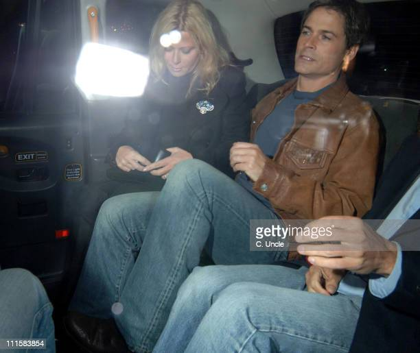 Rob Lowe during 'The Dukes of Hazzard' London Premiere After Party at Texas Embassy Cantina in London United Kingdom