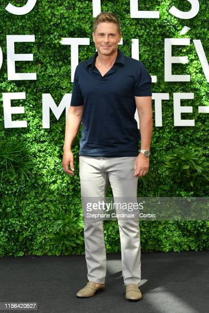 "Rob Lowe from the serie ""Wild Bill"" attends the 59th Monte Carlo TV Festival : Day Four on June 17, 2019 in Monte-Carlo, Monaco."