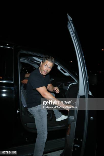 Rob Lowe is seen on August 22 2017 in Los Angeles CA
