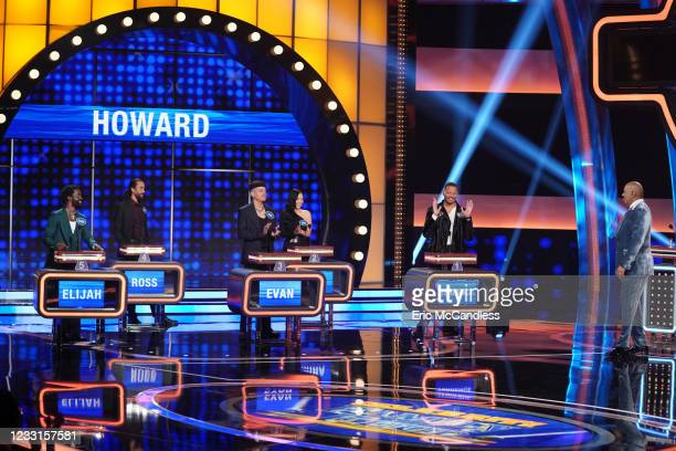 Rob Lowe vs. Terrence Howard Hosted by Steve Harvey, the seventh season of Celebrity Family Feud kicks off with the star of 9-1-1: Lone Star Rob Lowe...