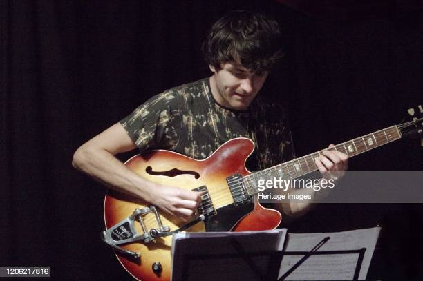 Rob Luft, Zone-B, Verdict Jazz Club, Brighton, East Sussex, 13 Dec 2019. Artist Brian O'Connor.