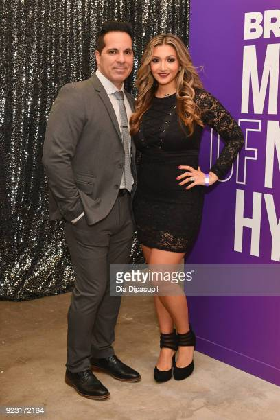Rob Maaddi and Remy Maaddi attend WE tv Launches Bridezillas Museum Of Natural Hysteria on February 22 2018 in New York City