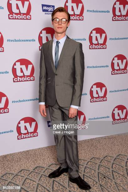 Rob Mallard arrives at the TV Choice Awards at The Dorchester on September 4 2017 in London England