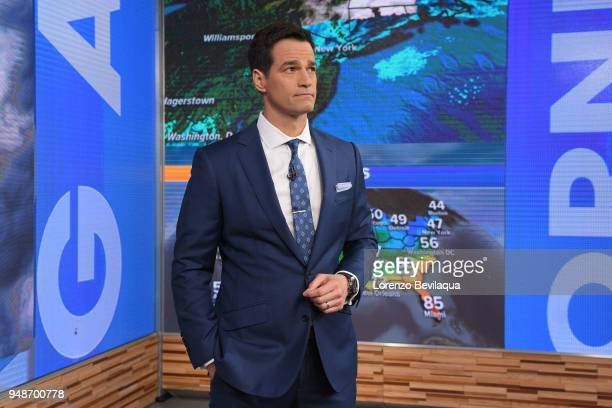 AMERICA Rob Marciano on 'Good Morning America' Thursday April 19 airing on the ABC Television Network ROB