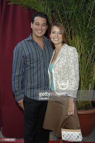 Rob Mariano and Amber Brkich during 2005/2006 CBS Prime Time UpFront at Tavern on the Green Central Park in New York City New York United States
