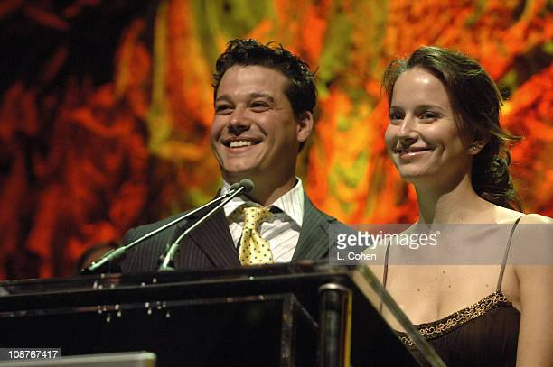 Rob Mariano and Amber Brkich during Bodogcom Presents Card Player's Player of the Year Awards Show and Cocktail Party at Henry Fonda Theatre in Los...