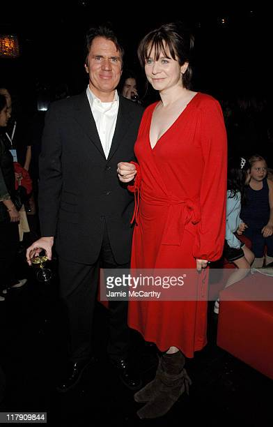 Rob Marshall and Emily Watson during Miss Potter New York City Premiere Sponsored by The New York Observer L'Oreal Paris and TMobile After Party at...