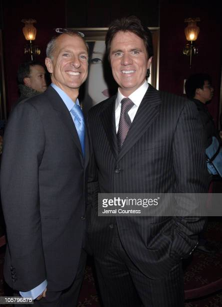 Rob Marshall and Guest during 'Memoirs of a Geisha' New York City Premiere Inside Arrivals at Ziegfeld Theater in New York City New York United States
