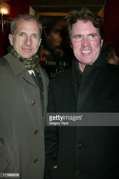"""Rob Marshall and partner John DeLuca during """"The Last Samurai"""" New York Premiere - Inside Arrivals at The Ziegfeld Theater in New York City, New..."""