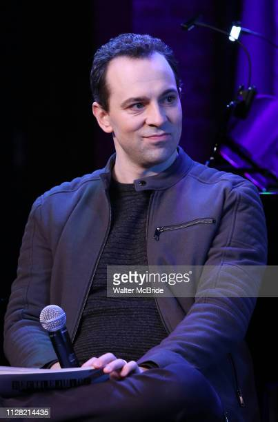 Rob McClure during Broadway's 'Beetlejuice' First Look Presentation at Subculture on February 28 2019 in New York City