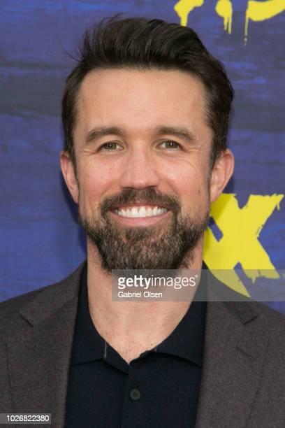 "Rob McElhenney arrives for the premiere of FXX's ""It's Always Sunny In Philadelphia"" Season 13 at Regency Bruin Theatre on September 4, 2018 in Los..."
