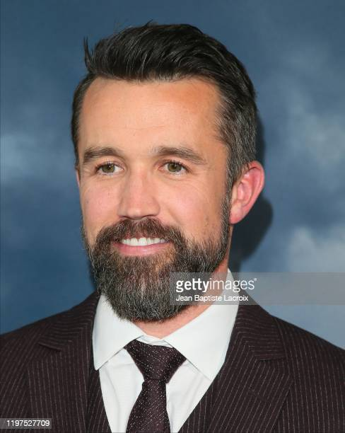 """Rob McElhenney attends the premiere of Apple TV+'s """"Mythic Quest: Raven's Banquet"""" at The Cinerama Dome on January 29, 2020 in Los Angeles,..."""
