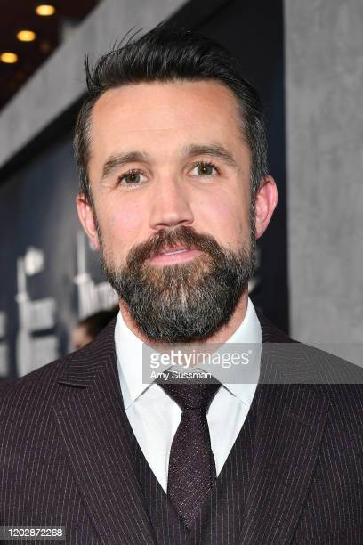 Rob McElhenney attends the premiere of Apple TV's Mythic Quest Raven's Banquet at The Cinerama Dome on January 29 2020 in Los Angeles California