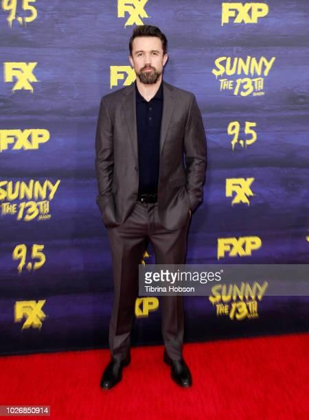 Rob McElhenney attends the premiere of FXX's 'It's Always Sunny In Philadelphia' season 13 at Regency Bruin Theatre on September 4, 2018 in Los...