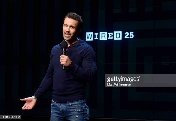 Rob McElhenney speaks onstage at the WIRED25 Summit 2019 - Day 2 at Commonwealth Club on November 09, 2019 in San Francisco, California.