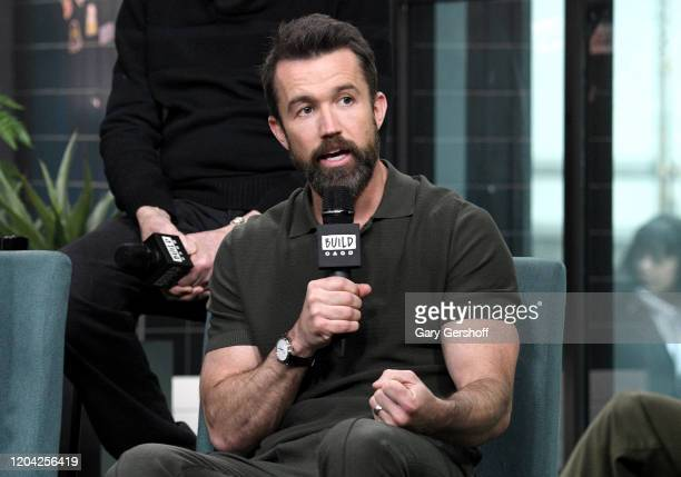 """Rob McElhenney visits the Build Series to discuss the Apple TV + series """"Mythic Quest: Raven's Banquet"""" at Build Studio on February 05, 2020 in New..."""