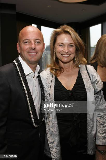 Rob McKay and Anna Hawken McKay during Ms Foundation for Women's 18th Annual Gloria Awards at Mandarin Hotel in New York NY United States