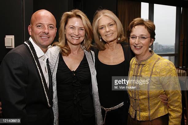 Rob McKay Anna Hawken Mckay Gloria Steinem and Sara Gould