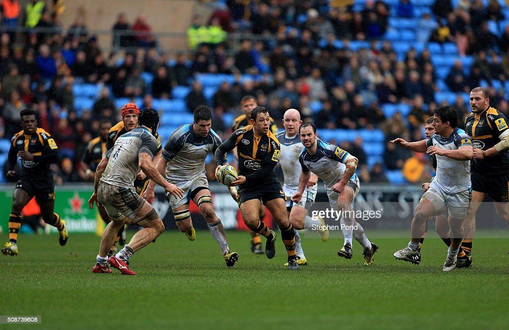 Wasps v Newcastle Falcons - Aviva Premiership : News Photo