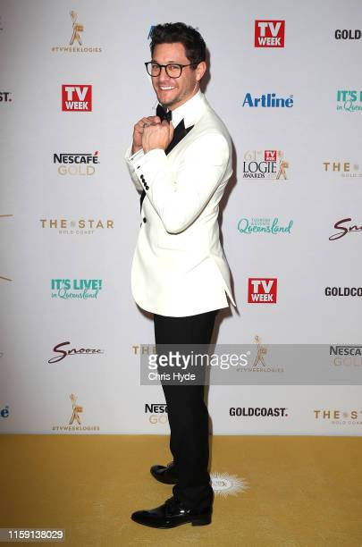 Rob Mills arrives at the 61st Annual TV WEEK Logie Awards at The Star Gold Coast on June 30 2019 on the Gold Coast Australia