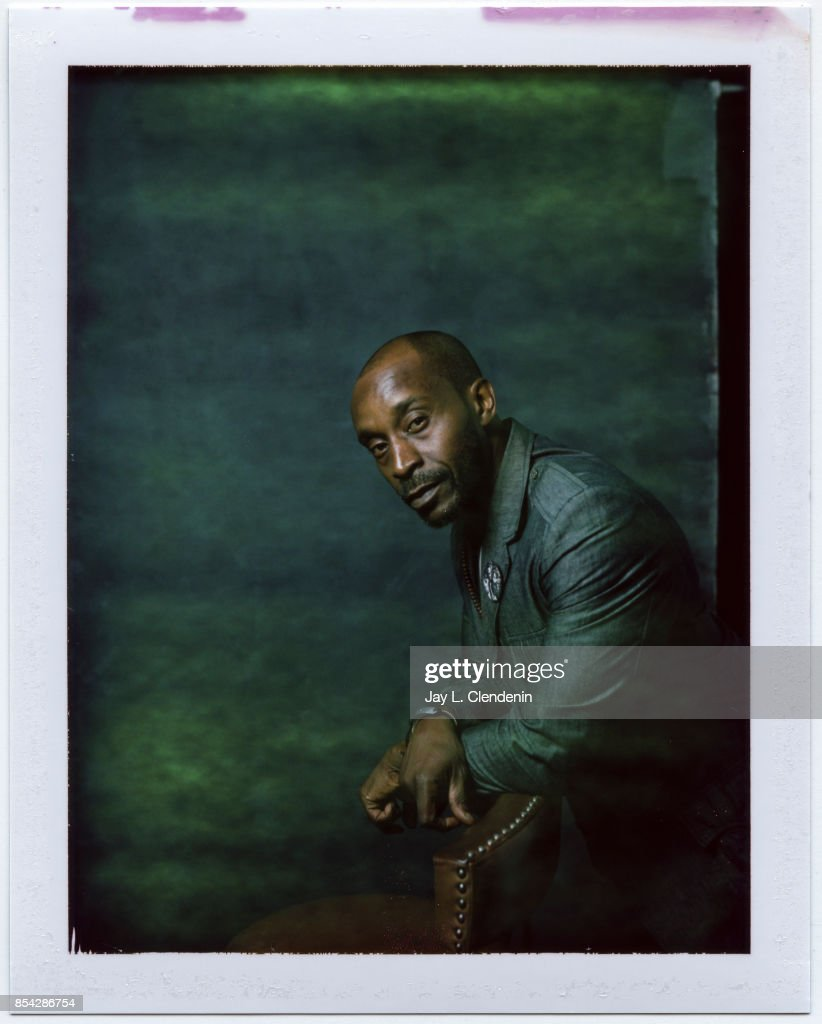 Rob Morgan from the film 'Mudbound,' is photographed on polaroid film at the L.A. Times HQ at the 42nd Toronto International Film Festival, in Toronto, Ontario, Canada, on September 12, 2017.