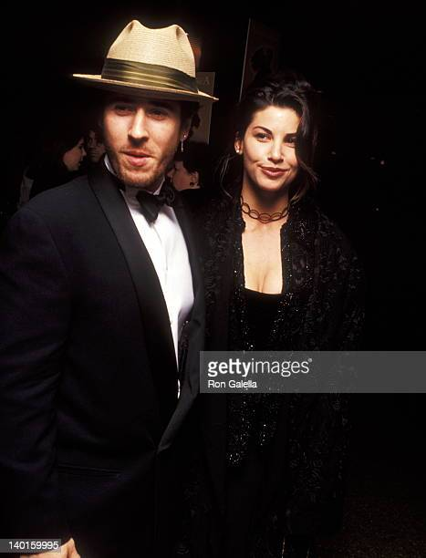 Rob Morrow and Gina Gershon at the Opening Night of 'Angels in America' Walter Kerr Theatre New York City