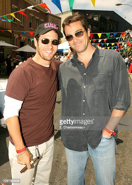 Rob Morrow and Jon Tenney during The 6th Annual Project ALS Los Angeles Benefit New York City Block Party At Paramount Pictures Sponsored by...
