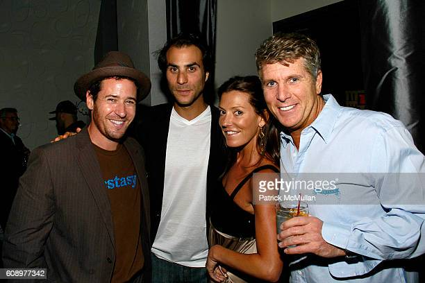Rob Morrow Ben Silverman Jennifer Raines and Donny Deutsch attend BEN SILVERMAN ERIC HADLEY and CHARLIE WALK host THE NETWORK UPFRONTS dinner at...
