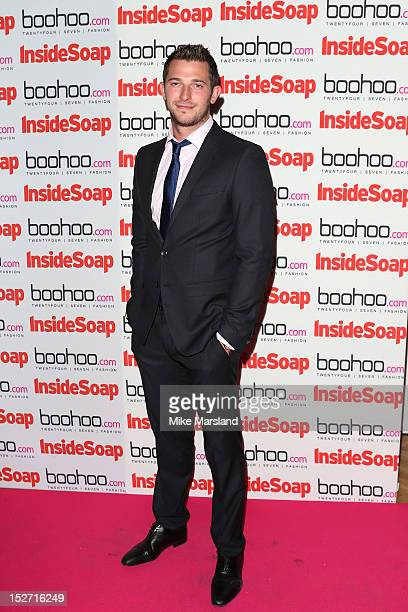 Rob Norbury attends the Inside Soap Awards at One Marylebone on September 24 2012 in London England