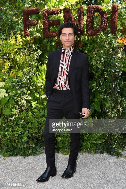 Rob Raco attends the Fendi fashion show during the Milan Men's Fashion Week Spring/Summer 2020 on June 17 2019 in Milan Italy