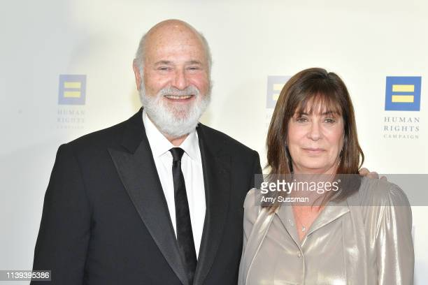 Rob Reiner and Michele Singer Reiner attend the Human Rights Campaign 2019 Los Angeles Dinner at JW Marriott Los Angeles at LA LIVE on March 30 2019...