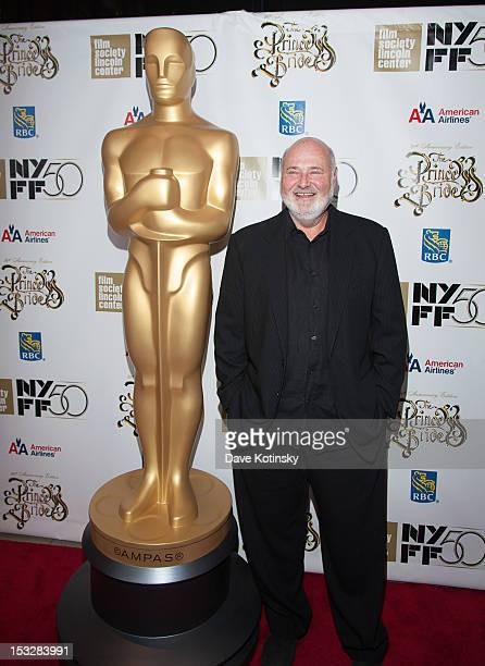 """Rob Reiner attends the 25th Anniversary Screening & Cast Reunion Of """"The Princess Bride"""" during the 50th annual New York Film Festival at Alice Tully..."""