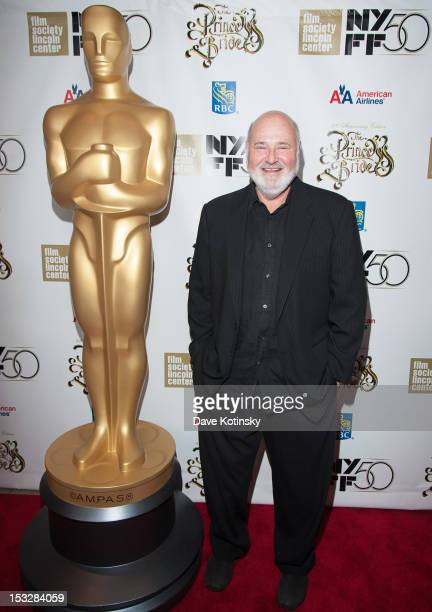 Rob Reiner attends the 25th Anniversary Screening Cast Reunion Of The Princess Bride during the 50th annual New York Film Festival at Alice Tully...