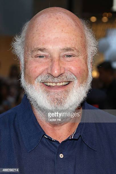 Rob Reiner attends the 'Being Charlie' premiere at Elgin Theatre during the 2015 Toronto International Film Festival on September 14 2015 in Toronto...