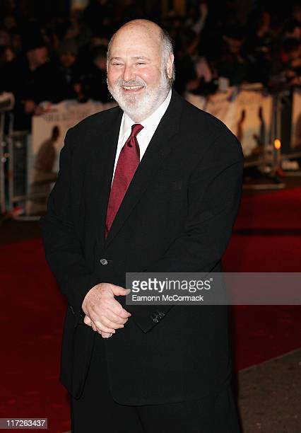 Rob Reiner director attends The Bucket List film premiere held at the Vue West End on January 23 2008 in London England