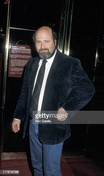 Rob Reiner during Mike Tyson vs Michael Spinks Fight at Trump Plaza June 27 1988 at Trump Plaza in Atlantic City New Jersey United States