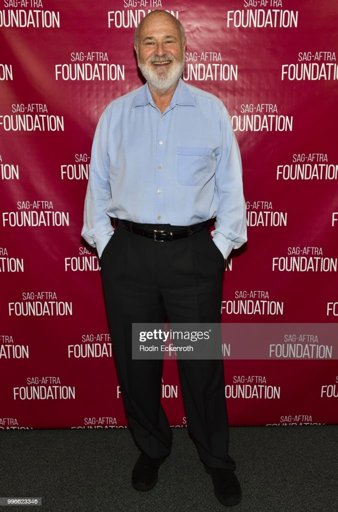 Rob Reiner poses for portrait at the SAG-AFTRA Foundation Conversations screening of 'Shock & Awe' at SAG-AFTRA Foundation Screening Room on July 11, 2018 in Los Angeles, California.